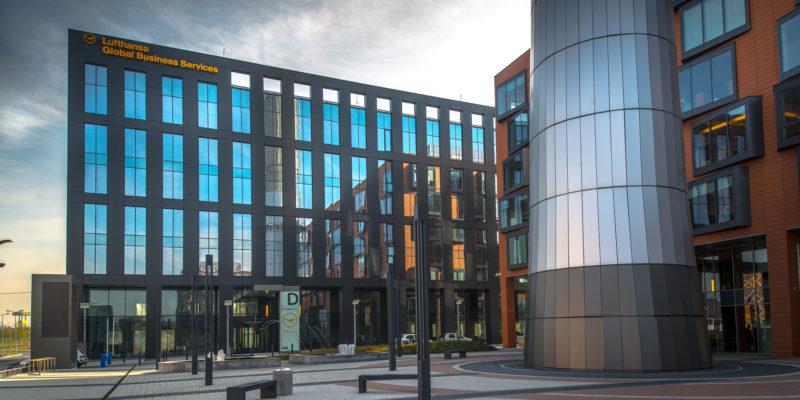 Bonarka For Business B4b Buildings Abcd Archi Mapa Krakowa